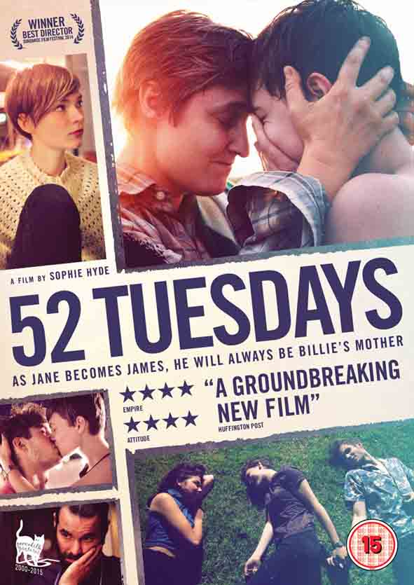 Filmed once a week, every week, for a year, the unique filmmaking rules of 52 Tuesdays bring a rare authenticity to this story of desire and responsibility.
