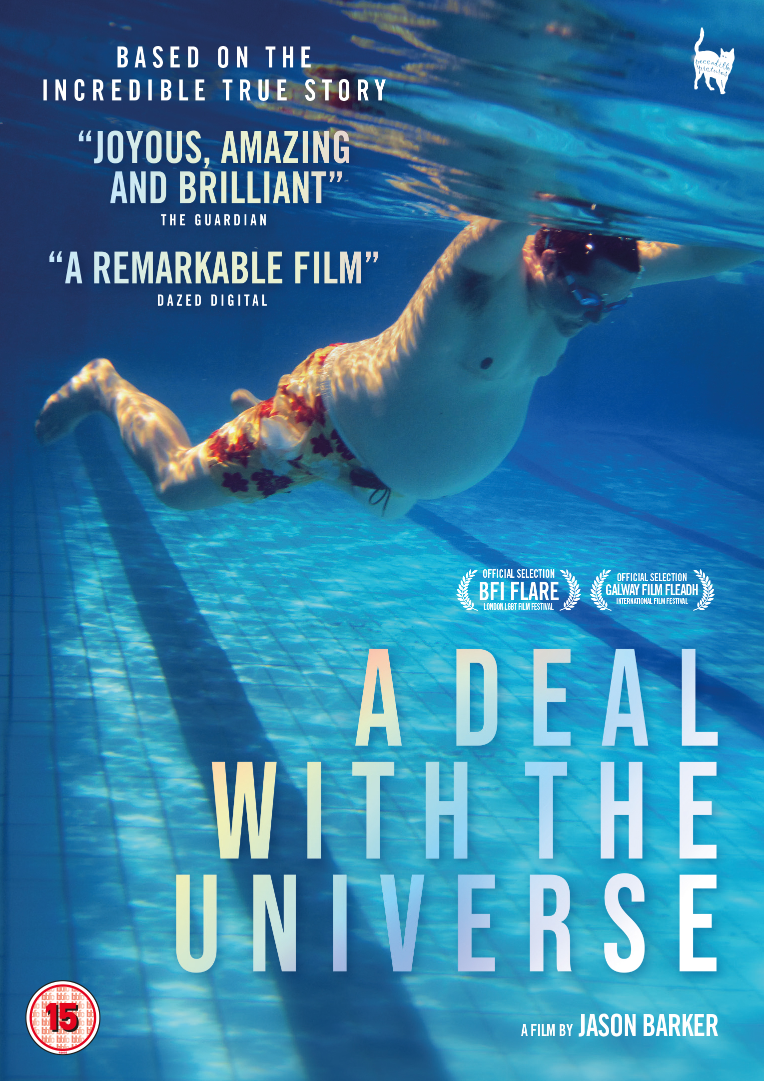 A Deal with the Universe follows transgender filmmaker Jason Barker's incredible story of how he came to give birth to his child. Autobiographical and made entirely from personal archive and home video diaries, Jason Barker and his partner invite you into their world, sharing their difficult decisions, processes and moments of joy and heartbreak in their journey to become parents. Filmed over 15 years, A Deal with the Universe delivers a unique and intimate insight into the struggles of becoming a parent and gender identity.